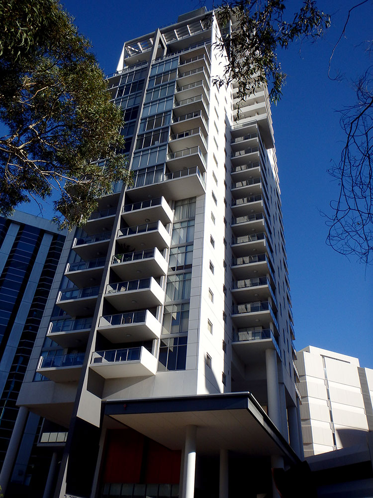 Elevation apartments bca consultants for 237 adelaide terrace